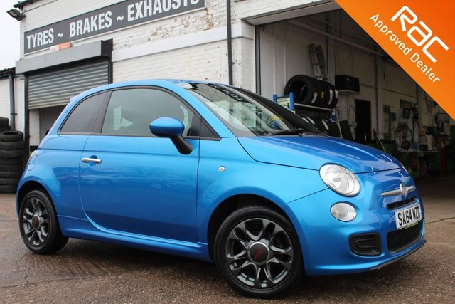 USED 2014 64 FIAT 500 1.2 S 3d 69 BHP VIEW AND RESERVE ONLINE OR CALL 01527-853940 FOR MORE INFO.