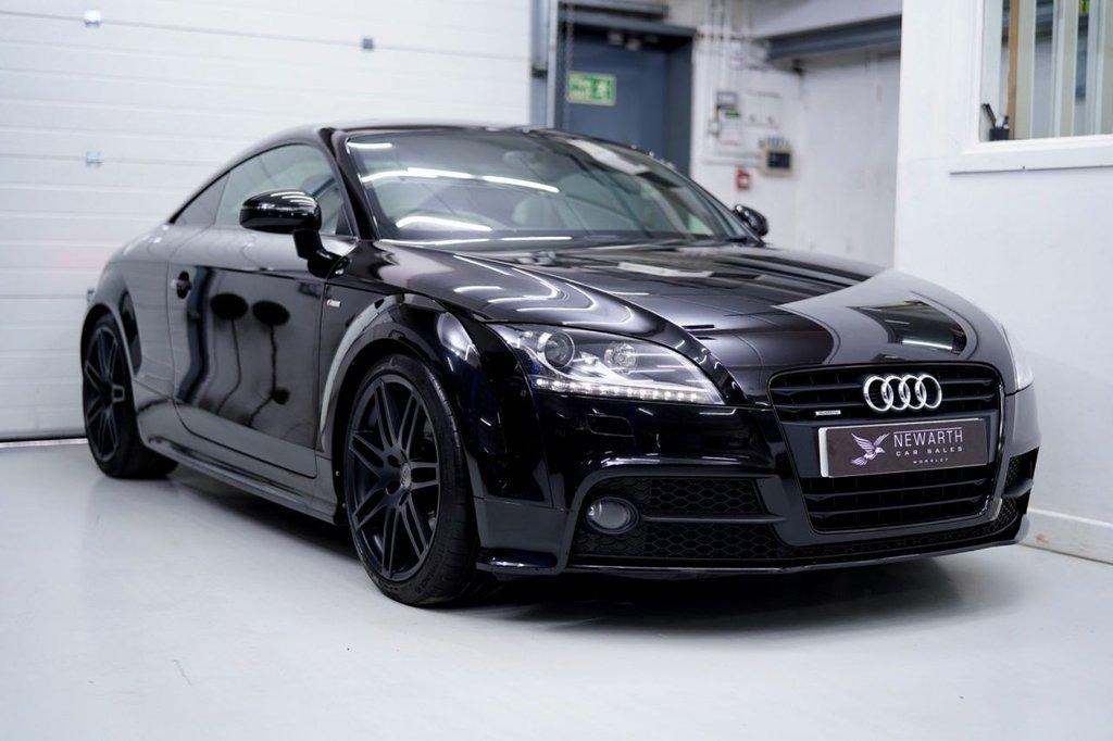 USED 2013 13 AUDI TT 2.0 TD Black Edition S Tronic quattro 2dr BLACK EDITION | ALL BLACK