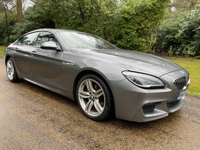 USED 2015 65 BMW 6 SERIES 3.0 640D M SPORT GRAN COUPE 4d 309 BHP