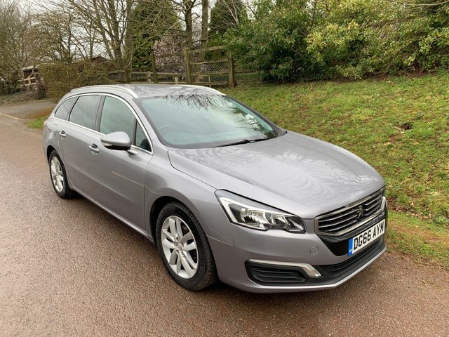 USED 2016 66 PEUGEOT 508 1.6 BLUE HDI SW ACTIVE 5d 120 BHP ** £0 ROAD FUND ** MOT ** SERVICE HISTORY **