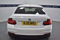 """USED 2015 15 BMW 2 SERIES 2.0 218D M SPORT 2d 140 BHP (18"""" ALLOYS - £30 ROAD TAX)"""