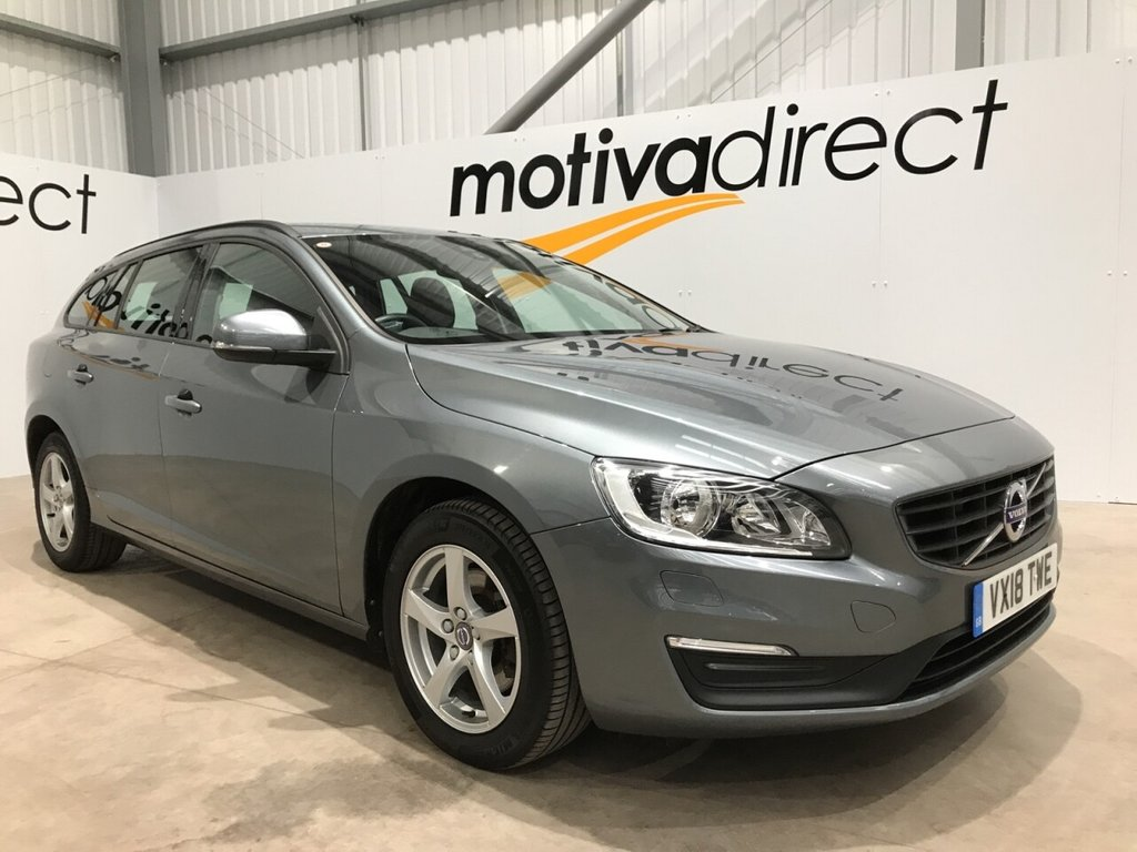 USED 2018 18 VOLVO V60 2.0 D2 BUSINESS EDITION LUX 5d 118 BHP