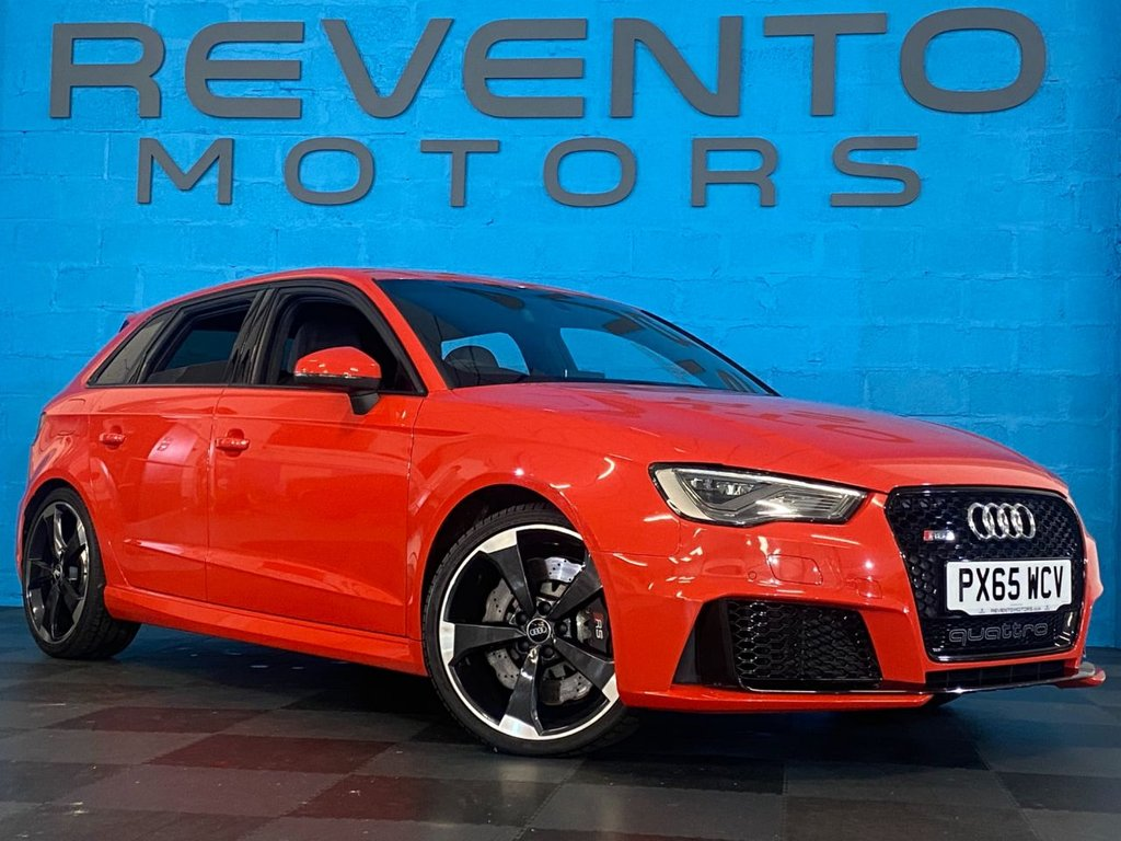 USED 2015 65 AUDI RS3 2.5 RS3 SPORTBACK QUATTRO 5d 362 BHP Over £11000 worth of options! Call us for the full list!!!