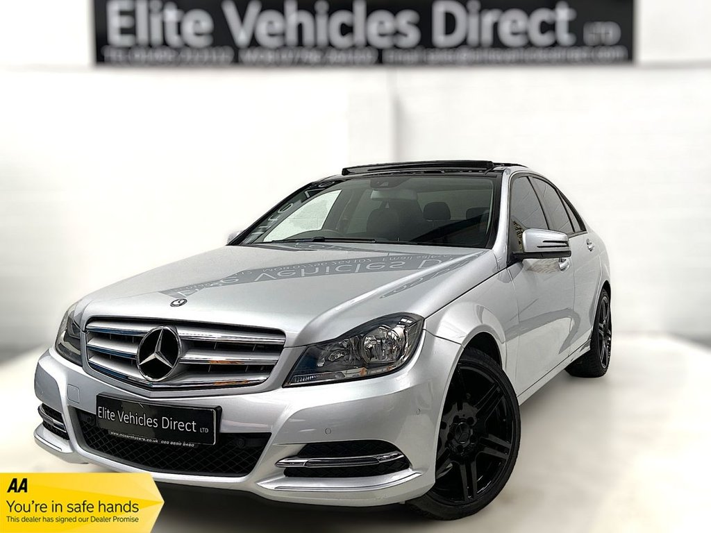 USED 2014 14 MERCEDES-BENZ C-CLASS 2.1 C220 CDI EXECUTIVE SE PREMIUM PLUS 4d 168 BHP