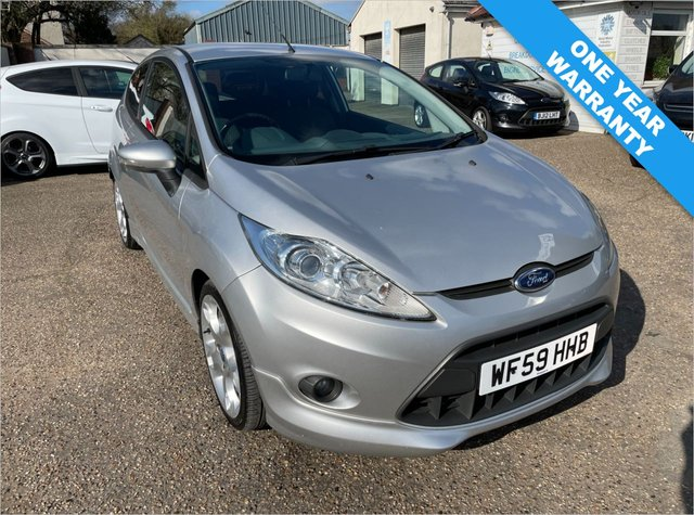 USED 2009 59 FORD FIESTA 1.6 ZETEC S TDCI 3d 89 BHP ONE YEAR WARRANTY INCLUDED / CAM BELT AND WATER PUMP DONE 2019 / VOICE COMMS / USB / BLUETOOTH