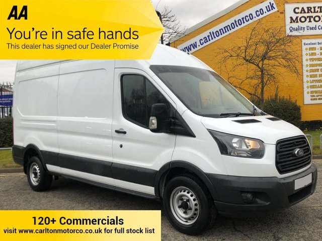 2018 18 FORD TRANSIT 350 TDCi 130 L3 H3 LWB HIGH ROOF P/V RWD