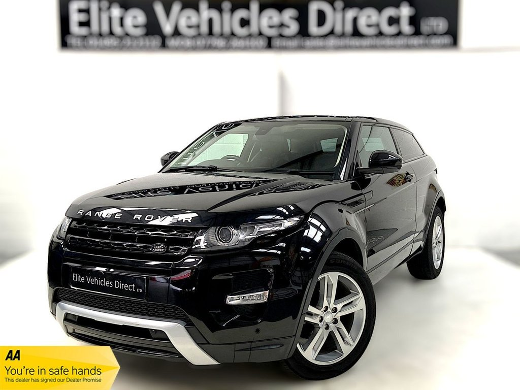 USED 2015 15 LAND ROVER RANGE ROVER EVOQUE 2.2 SD4 PURE TECH 3d 190 BHP