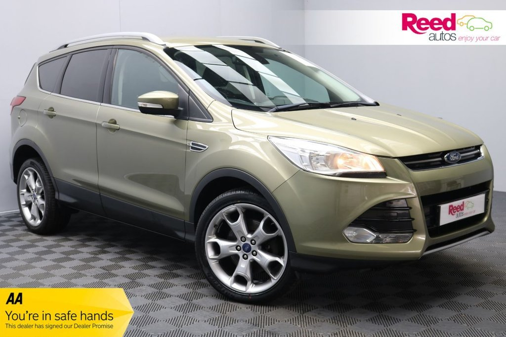 USED 2014 14 FORD KUGA 2.0 TITANIUM TDCI 2WD 5d 138 BHP 1 FORMER KEEPER+VERY LOW MILES+APPRNCE PCK+FOG LIGHTS+HEAT MIRRORS