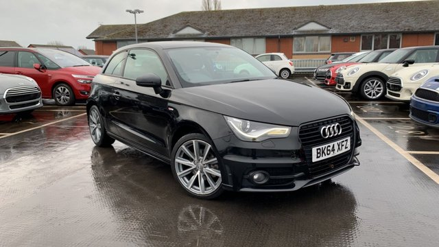 USED 2014 64 AUDI A1 1.6 TDI S LINE STYLE EDITION 3d 103 BHP ARRIVING NEXT WEEK