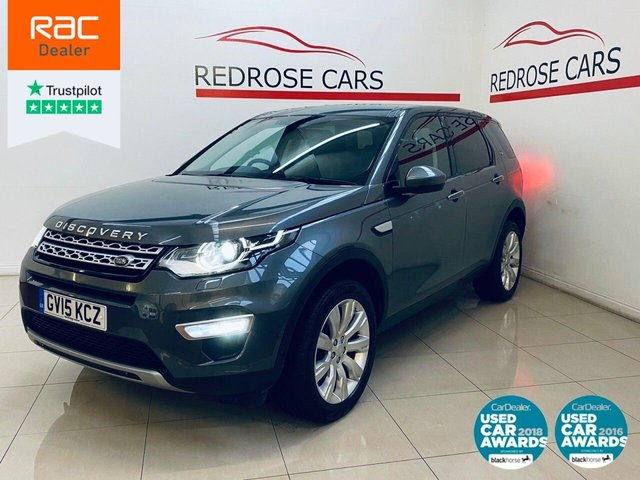 USED 2015 15 LAND ROVER DISCOVERY SPORT 2.2 SD4 HSE LUXURY 5d 190 BHP FULL SRVC, PAN ROOF, NAV
