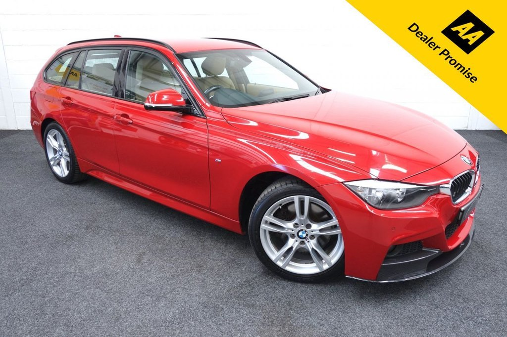 USED 2013 63 BMW 3 SERIES 3.0 330D XDRIVE M SPORT TOURING 5d 255 BHP