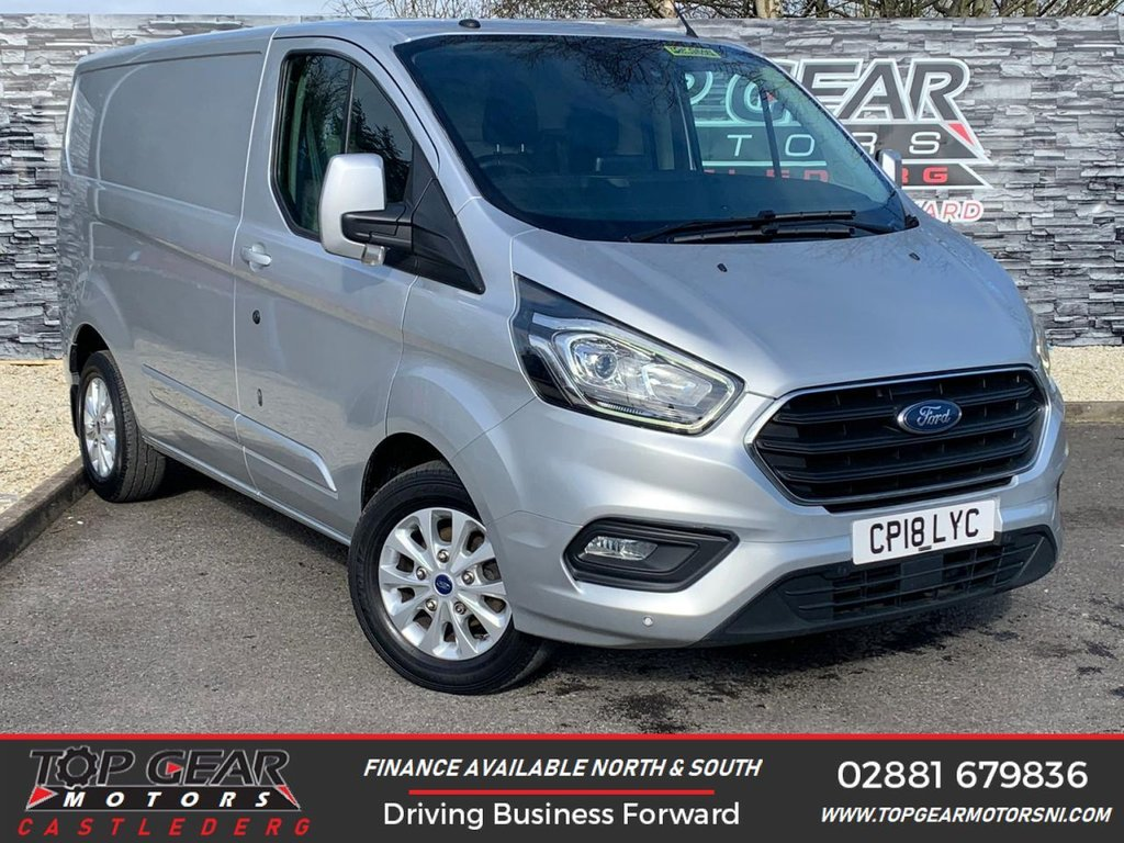 USED 2018 18 FORD TRANSIT CUSTOM 280 2.0 130BHP LIMITED  L1 H1 ** A/C, HEATED SEATS, CRUISE CONTROL ** OVER 90 VANS IN STOCK