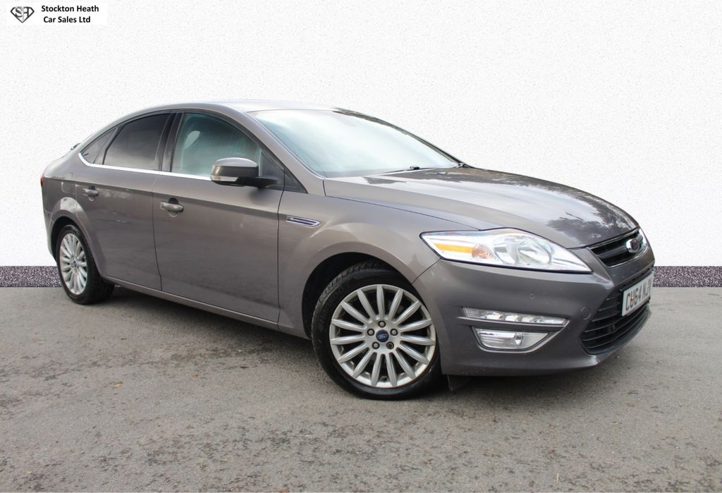 USED 2014 64 FORD MONDEO 2.0 ZETEC BUSINESS EDITION TDCI 5d 138 BHP