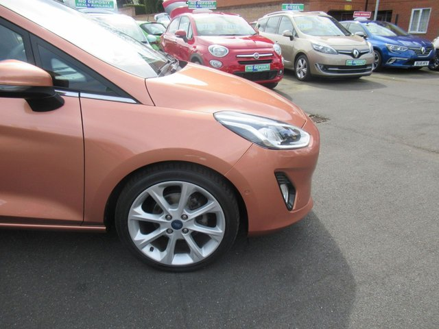 USED 2017 67 FORD FIESTA 1.0 B AND O PLAY TITANIUM 5d 99 BHP **01543 379066..AUTOMATIC.. 5 DOOR*