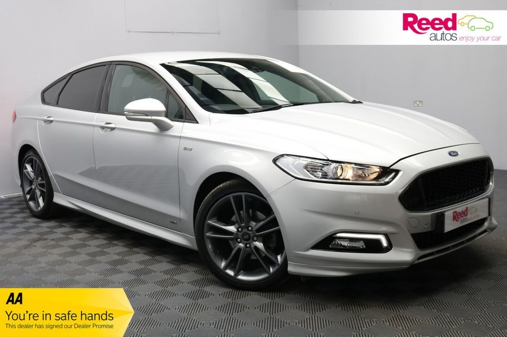 USED 2019 19 FORD MONDEO 2.0 ST-LINE EDITION TDCI 5d 177 BHP 19''ALLOYS+CAM+NAV+1/2 LEATH+HEATED STEERING+CRUISE CON+BI-XENON