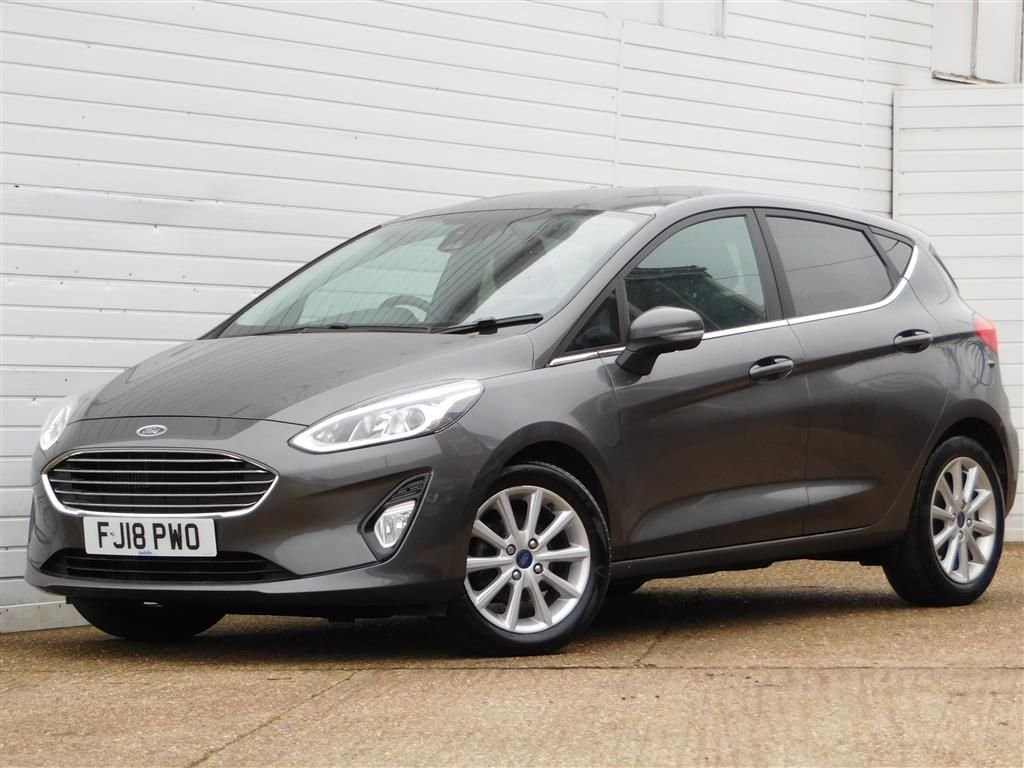 USED 2018 18 FORD FIESTA 1.5 TITANIUM TDCI 5d 118 BHP Buy Online Moneyback Guarantee