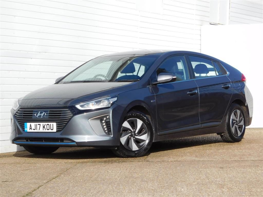 USED 2017 17 HYUNDAI IONIQ 1.6 PREMIUM 5d Buy Online Moneyback Guarantee