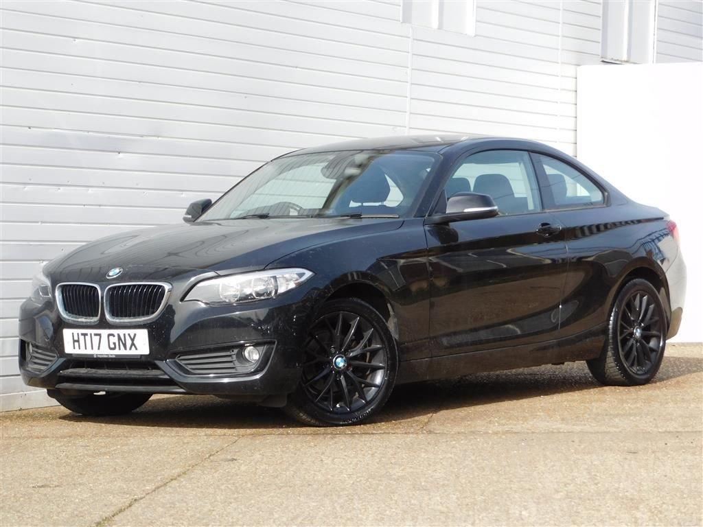 USED 2017 17 BMW 2 SERIES 2.0 218D SE 2d 148 BHP Buy Online Moneyback Guarantee