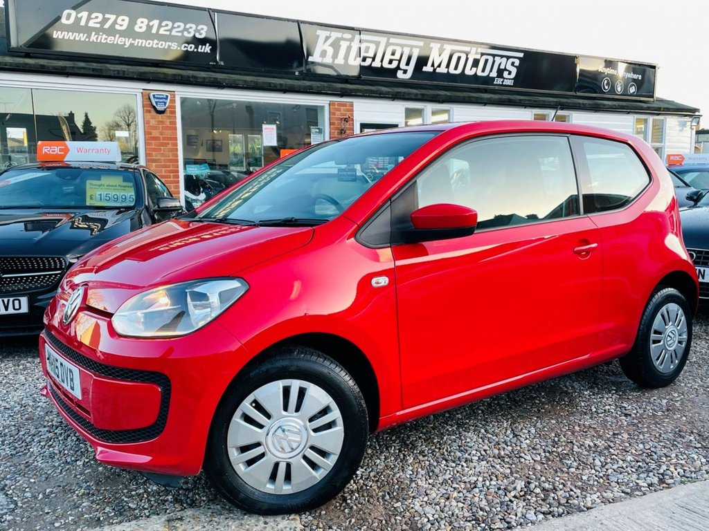 USED 2015 15 VOLKSWAGEN UP 1.0 MOVE UP 3d 59 BHP SATELLITE NAVIGATION