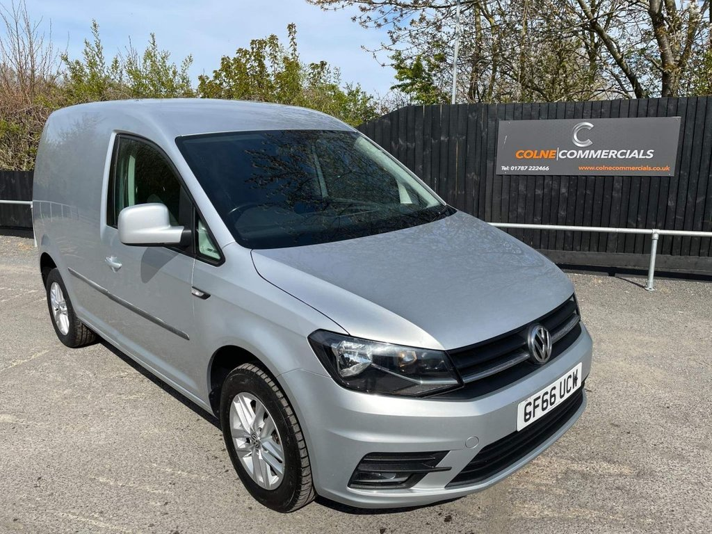 USED 2016 66 VOLKSWAGEN CADDY 2.0 TDI C20 BlueMotion Tech Highline EU6 (s/s) 5dr **EURO 6**AIR CONDITIONING**