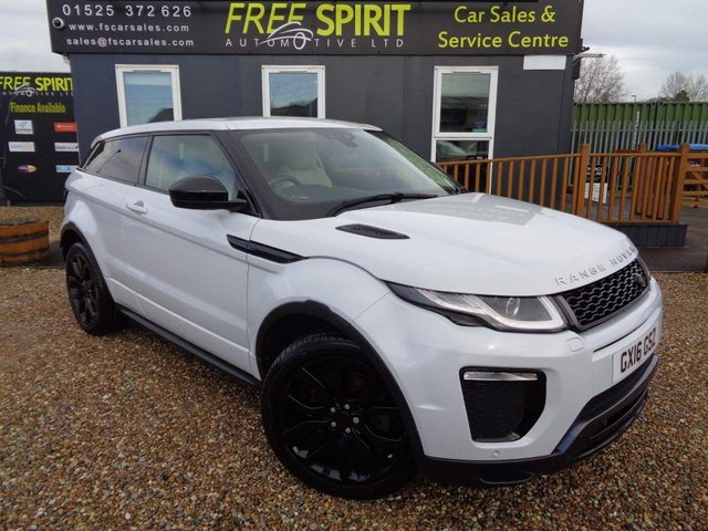 USED 2016 16 LAND ROVER RANGE ROVER EVOQUE 2.0 TD4 HSE Dynamic Auto 4WD (s/s) 3dr Nav, Rear Cam, Cream Leather
