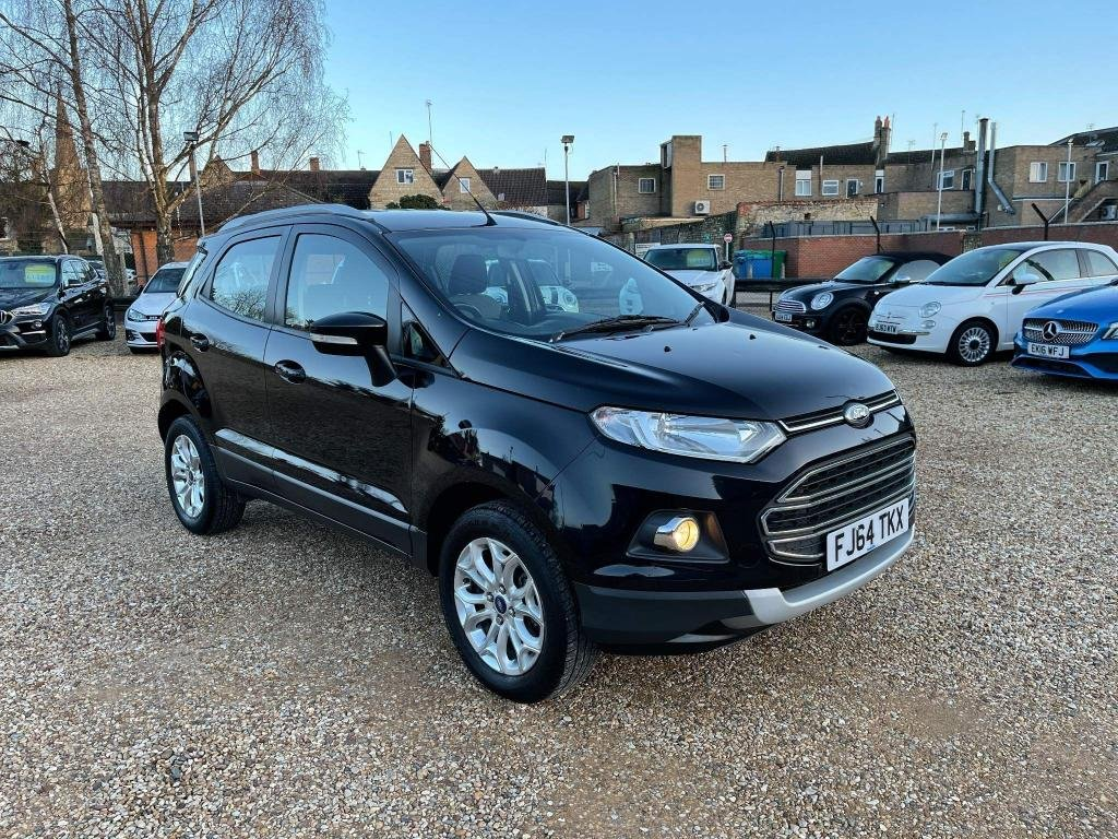 USED 2014 64 FORD ECOSPORT 1.0 T EcoBoost Titanium 5dr Alloys & Climate