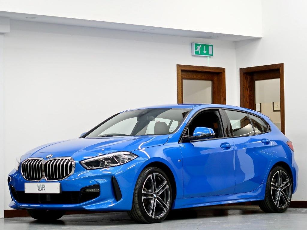 USED 2019 69 BMW 1 SERIES 2.0 118d M Sport Auto (s/s) 5dr 1 OWNER + SAT NAV + H/SEATS