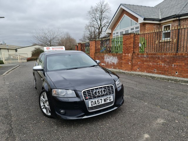 USED 2008 57 AUDI A3 2.0 S3 TFSI QUATTRO 3d 262 BHP A GREAT ICONIC GERMAN CAR