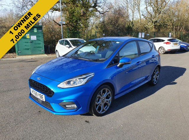 2020 69 FORD FIESTA 1.0 ST LINE ECOBOOST (125PS) NEW MODEL