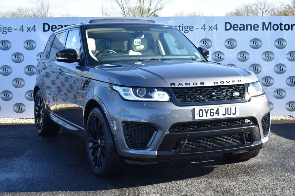 USED 2014 64 LAND ROVER RANGE ROVER SPORT 4.4 AUTOBIOGRAPHY DYNAMIC 5d 339 BHP SVR KIT & ALLOYS