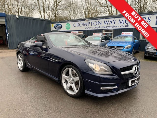 2012 62 MERCEDES-BENZ SLK 2.1 SLK250 CDI BLUEEFFICIENCY AMG SPORT 2d 204 BHP