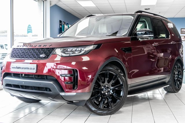 2017 66 LAND ROVER DISCOVERY 5 3.0 TD6 HSE LUXURY 5d 255 BHP HEADREST DVDS