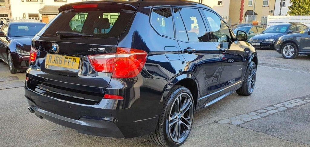 USED 2016 66 BMW X3 2.0 XDRIVE20D M SPORT 5d 188 BHP