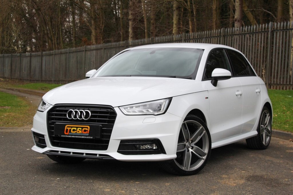 "USED 2016 16 AUDI A1 1.4 SPORTBACK TFSI BLACK EDITION 5d 148 BHP A STUNNING LOOKING A1 BLACK EDITION WITH 18"" ALLOY WHEELS, XENONS, SERVICE HISTORY AND MORE!!!"