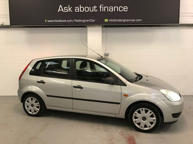 USED 2005 05 FORD FIESTA 1.4 STYLE 16V 5d 80 BHP
