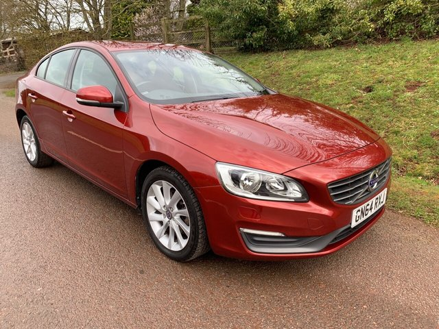 USED 2014 64 VOLVO S60 2.0 D4 BUSINESS EDITION 4d 178 BHP ** £0 ROAD FUND ** MOT ** SERVICE HISTORY **