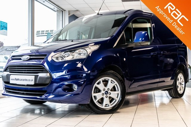 2017 67 FORD TRANSIT CONNECT 1.5 200 LIMITED P/V L1 H1 118 BHP