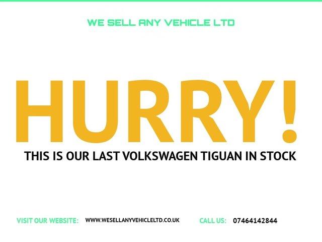 USED 2010 60 VOLKSWAGEN TIGUAN 2.0 S TDI BLUEMOTION TECHNOLOGY 1 KEEPER CAR