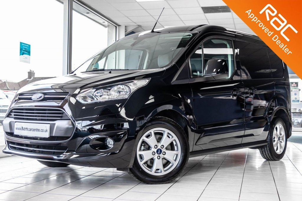 USED 2017 67 FORD TRANSIT CONNECT 1.5 200 LIMITED L1 H1 P/V 118 BHP AIR-CON+HEATED SEATS+BLUETOOTH