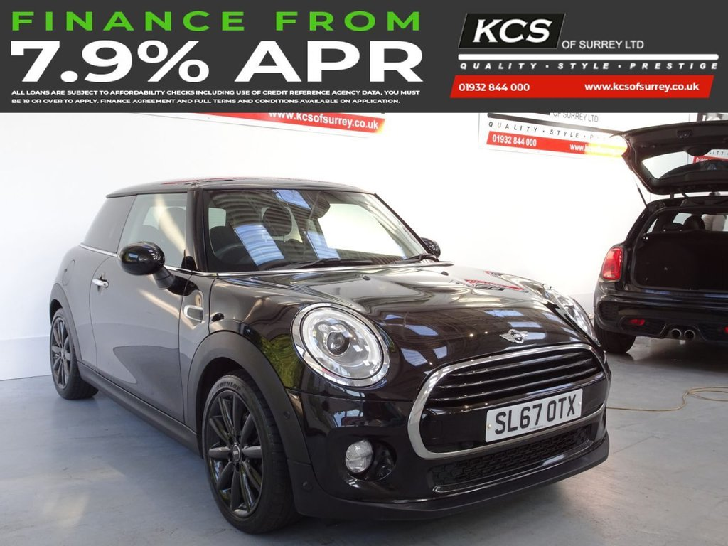 USED 2017 67 MINI HATCH COOPER 1.5 COOPER 3d 134 BHP CHILI PACK - NAVIGATION SYSTEM