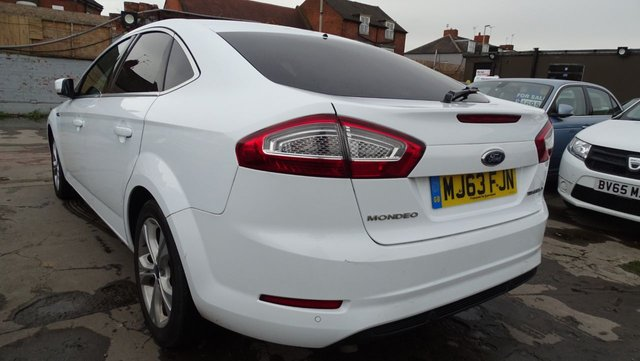 USED 2013 63 FORD MONDEO 2.0 TITANIUM X BUSINESS EDITION TDCI 5d 161 BHP