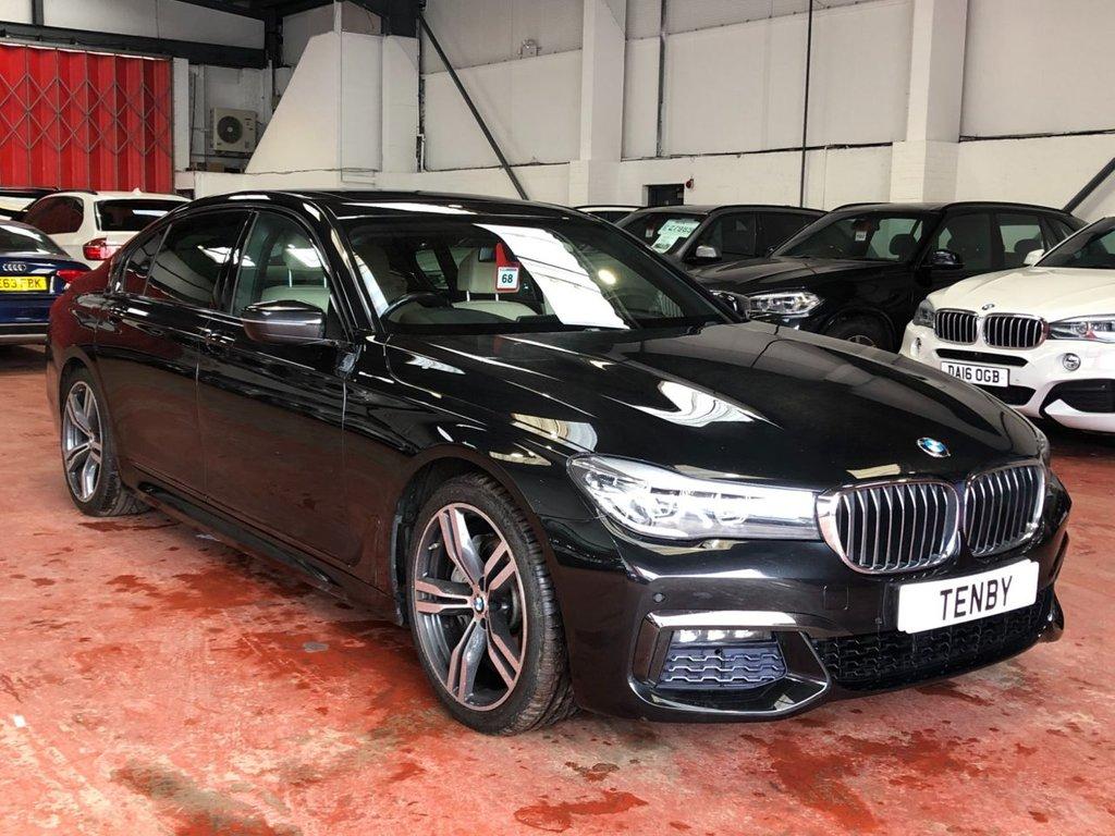 USED 2017 17 BMW 7 SERIES 2.0 740LE XDRIVE M SPORT 4d AUTO 255 BHP