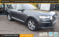USED 2016 65 AUDI Q7 3.0 TDI QUATTRO S LINE 5d 269 BHP HEAD UP DISPLAY, VIRTUAL COCKPIT, FULL LEATHER, REAR CAMERA, POWER BOOT, DAB, BLUETOOTH, 7 SEATS