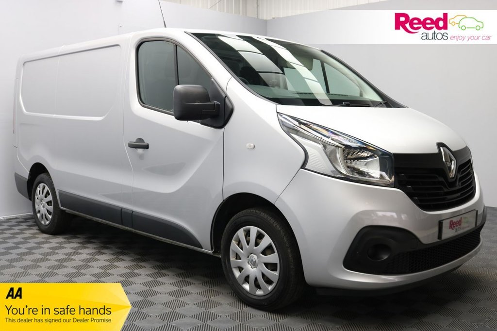 USED 2016 16 RENAULT TRAFIC 1.6 SL27 BUSINESS PLUS ENERGY DCI S/R P/V 120 BHP