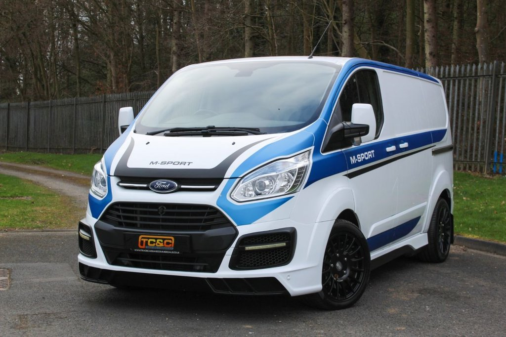 USED 2017 66 FORD TRANSIT CUSTOM 2.2 290 M SPORT MS-RT LR P/V 153 BHP A GENUINE ONE OWNER M SPORT CUSTOM WITH A LOW MILEAGE!!!