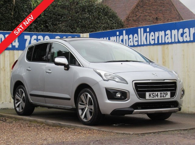 USED 2014 14 PEUGEOT 3008 1.6 HDI ALLURE 5d 115 BHP IMMACULATE CAR