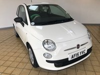 USED 2015 15 FIAT 500 1.2 POP 3d 4 Seat Petrol Hatchback Great Value for Money Low Tax Low Insurance Cheap to Run Recent Service & MOT. 2 New Tyres, New Front Brakes. Now Ready to Finance and Drive Away Today. IDEAL FIRST CAR WITH TWO FORMER KEEPERS AND A GREAT SERVICE HISTORY