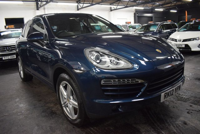 USED 2012 12 PORSCHE CAYENNE 3.0 D V6 TIPTRONIC 5d 245 BHP GREAT VALUE 3.0D V6 CAYENNE - SERVICE HISTORY TO 97K - LEATHER - NAV - POWERBOOT - HEATED SEATS - BOSE SPEAKERS - PRIVACY GLASS