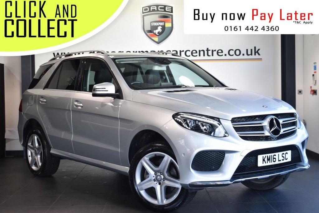 USED 2016 16 MERCEDES-BENZ GLE-CLASS 3.0 GLE 350 D 4MATIC AMG LINE 5DR AUTO 255 BHP