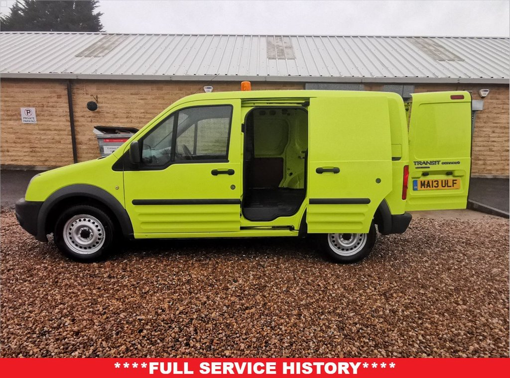 USED 2013 13 FORD TRANSIT CONNECT 1.8 T200 LR 74 BHP